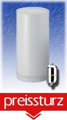 Schlanker Ersatz-Duschfilter