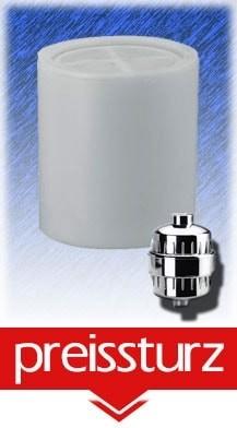 Kompakter Ersatz-Duschfilter