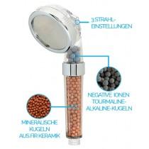 Ionisierter Duschkopf Filter