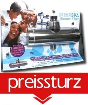 8 Phasen Luxus Duschfilter